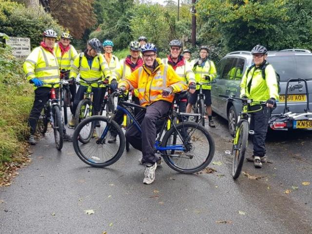 Bike team training